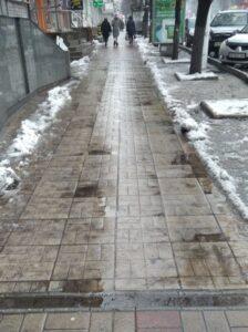 Проблема тротуарів