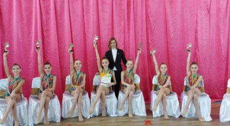 Кам'янські гімнастки стали чемпіонками України