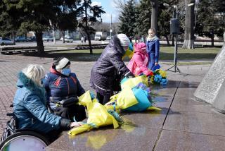 У Кам'янському відзначили 207-й день народження Тараса Шевченка