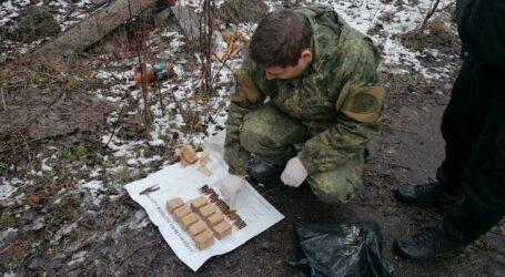 На Дніпропетровщині знайшли схрон з боєприпасами