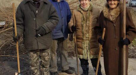 Мешканці приватного сектору Кам'янського активно долучаються до місячника з благоустрою