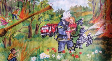 Юні кам'янчани беруть участь у Всеукраїнському конкурсі дитячих малюнків «Пожежам краще запобігти!»