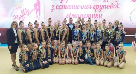 Кам'янчанки здобули призові місця на всеукраїнському турнірі з естетичної групової гімнастики
