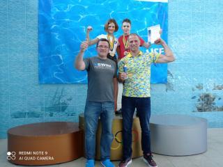 Кам'янські плавці вибороли 9 медалей на чемпіонаті України