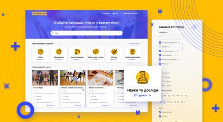 В Україні з'явиться сайт з усіма гуртками