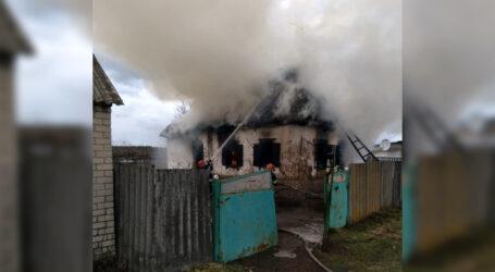 На Дніпропетровщині горіла хата