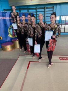 Кам'янчанки здобули 5 перших місць на чемпіонаті області з естетичної групової гімнастики - ФОТО