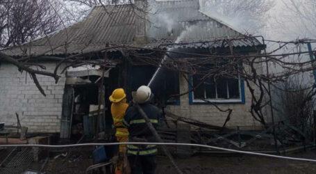 Під Кам'янським у власному будинку згорів пенсіонер