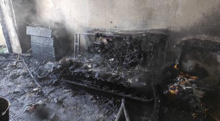 На Дніпропетровщині внаслідок пожежі у власній квартирі загинула пенсіонерка
