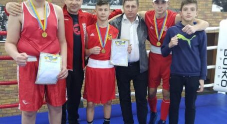 Каменские боксеры заняли призовые места на Чемпионате Украины