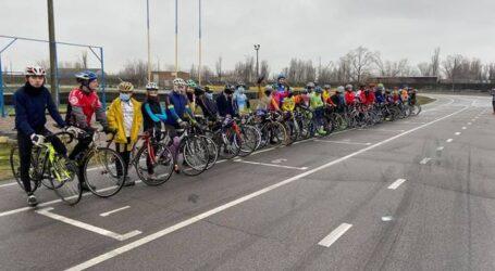 В Каменском прошёл чемпионат области по велоспорту
