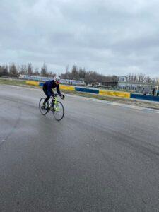 В Каменском прошёл чемпионат области по велоспорту - ФОТО
