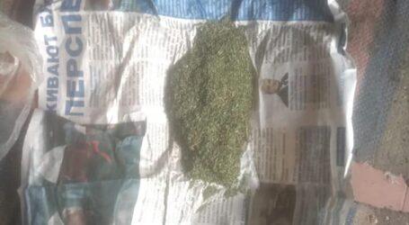 У Кам'янському районі поліцейські вилучили у чоловіка тротилову шашку та марихуану