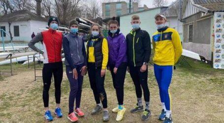 Гребцы-академисты из Каменского успешно выступили на Всеукраинской регате