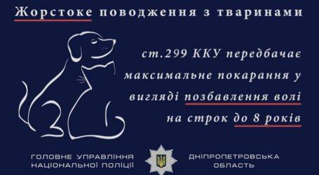 У Кам'янському закатували собаку