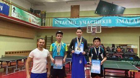 Каменчанин – чемпион Днепра по настольному теннису