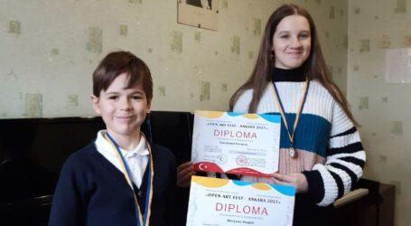 Учні Мистецької школи №3 – призери міжнародного конкурсу