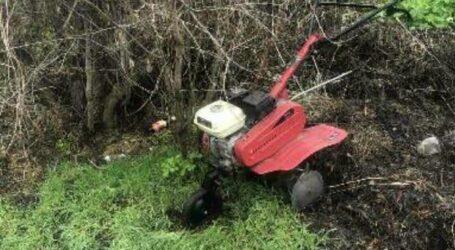 На Дніпропетровщині чоловік вкрав з подвір'я мотоблок, поки господиня порпалася в будинку