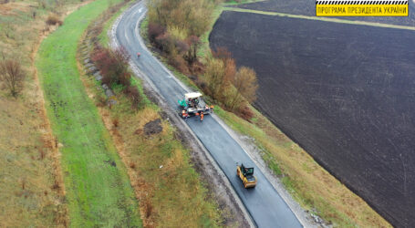 На Дніпропетровщині капітально ремонтують ще одну ділянку дороги