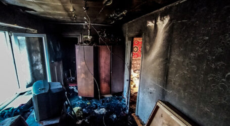 На Дніпропетровщині на пожежі загинула жінка