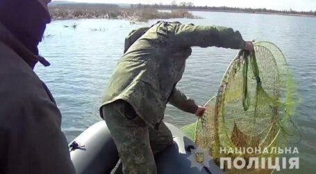З початку операції «Нерест» на Дніпропетровщині вилучили у браконьєрів майже 2 тис. кг незаконного лову