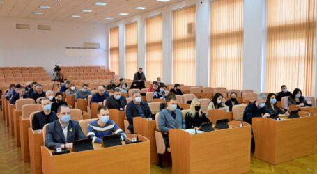 У Кам'янському відбулася позачергова сесія міської ради
