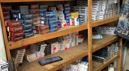 У Кам'янському поліція вилучила наркотики, контрафактні цигарки та алкоголь