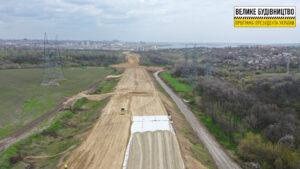7 кілометрів нової дороги: під Дніпром будують об'їзну - ФОТО