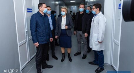 У Кам'янському створили другу базу для лікування пацієнтів з Covid-19