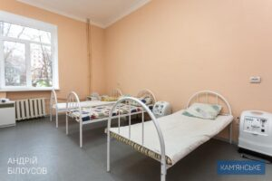 У Кам'янському створили другу базу для лікування пацієнтів з Covid-19 - ФОТО