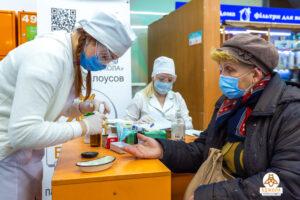 ПП «Бджола» провела соціальну акцію до Дня здоров'я - ФОТО