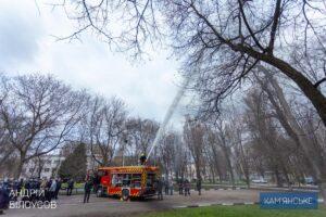 У Кам'янському привітали працівників пожежної охорони - ФОТО
