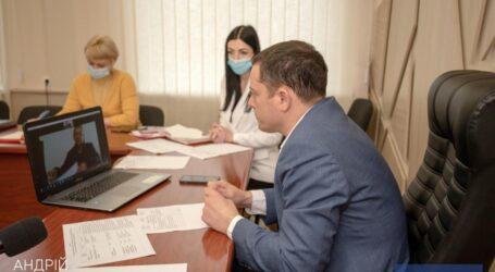 Міський голова Кам'янського провів прийом громадян в режимі відеоконференцзв'язку