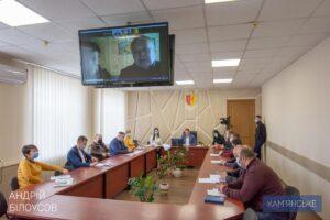Міський голова Кам'янського провів прийом громадян в режимі відеоконференцзв'язку - ФОТО