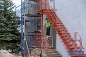 На лівобережжі Кам'янського триває реконструкція дитячого садочка «Соняшник» - ФОТО