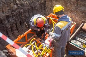 ДТЭК «Днепровские электросети» усиливает электролинии Соцгорода в Каменском - ФОТО