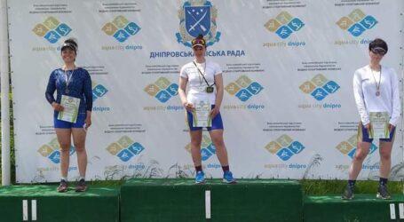 Кам'янчанка здобула звання чемпіонки України з веслування академічного