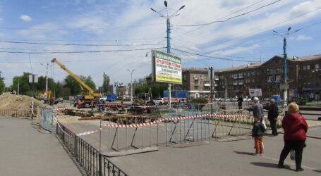 У Кам'янському рух транспорту на майдані Героїв буде відновлено 29 травня