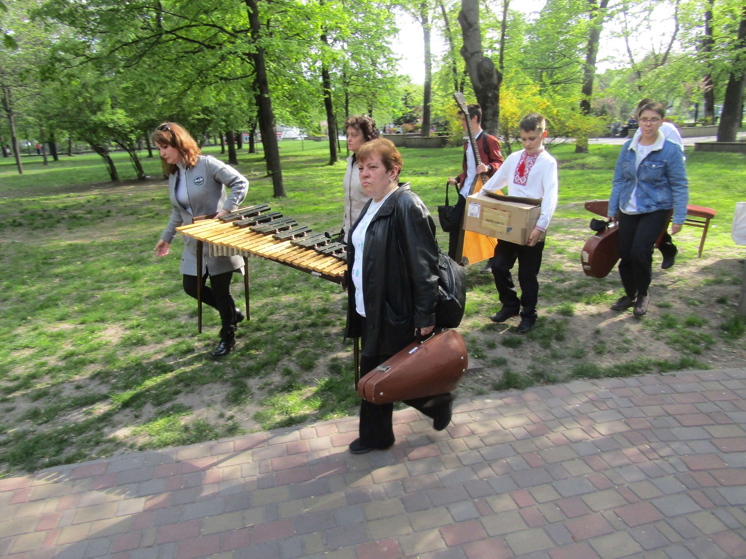 Фестиваль «Джазова весна» відбувся в парку Кам'янського - ФОТО