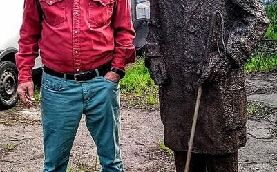 У Херсоні встановлять скульптуру звичайній людині, яку створив кам'янський скульптор Гарнік Хачатрян