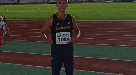 Кам'янський легкоатлет виборов золоту медаль на чемпіонаті України