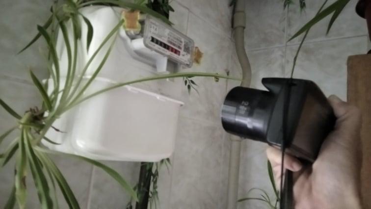 В Кам'янському газовики фотографують показання лічильників
