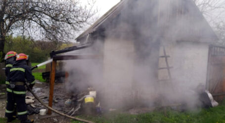 Під Кам'янським під час пожежі у літній кухні загинув чоловік