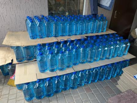 На Дніпропетровщині вилучили майже 10 тонн фальсифікованого алкоголю