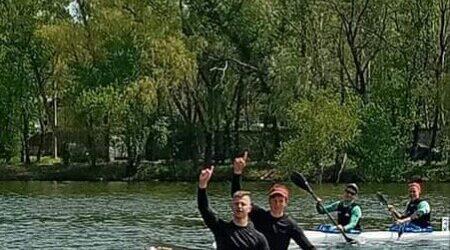 Кам'янські веслярі стали призерами на обласних змаганнях