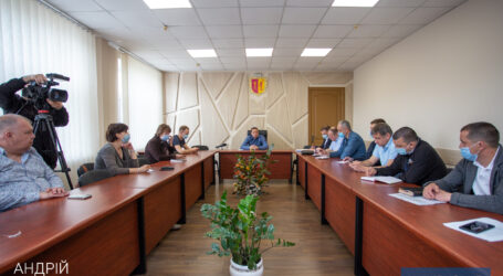 Мэр Каменского провел совещание по вопросам благоустройства города