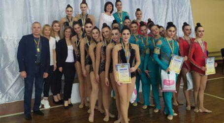 Кам'янські гімнастки успішно виступили на всеукраїнських змаганнях