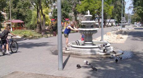 Напувати птахів та вуличних тварин агітують юні екологи в Кам'янському