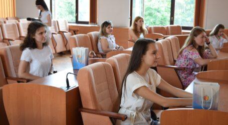 Молодь Кам'янського відзначила 25-у річницю Конституції України