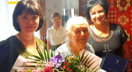 Мешканка Кам'янського відзначила свій 100-річний ювілей